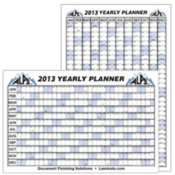 2012 Yearly Wall Planner