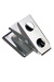 Pressure-Sensitive Nickel-Plated Clip, 2-Hole Smooth Face