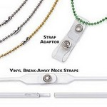 "Nickel-Plated Steel Beaded Neck Chain, Length 30"" (762Mm)"