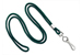 "Forest Round 1/8"" (3 Mm) Standard Lanyard W/ Nickel Plated Steel Swivel Hook"