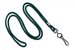 "Forest Round 1/8"" (3 Mm) Standard Lanyard W/ Black-Oxidized Swivel Hook"