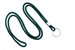 "Forest Round 1/8"" (3 Mm) Lanyard W/ Nickel Plated Steel Split Ring"