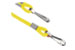 Yellow Round Woven Nylon Cord W/2 Nickel Plated Steel Hooks