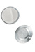 Magnetic Badge Finding, 1 Zinc-Plated Steel Encased Disc
